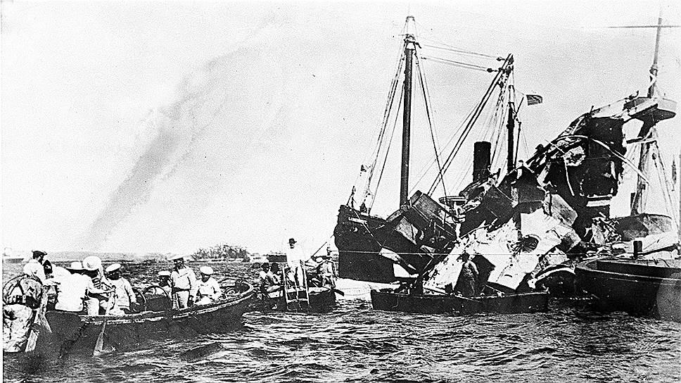1898 год. Американский броненосный крейсер USS Maine взорвался и затонул. В результате взрыва погибли 266 человек, 260 — во время взрыва или вскоре после него, шестеро скончались в больнице от полученных травм