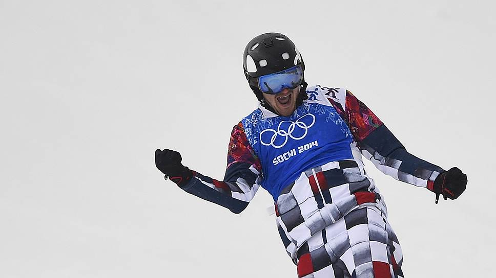 Российский сноубордист Николай Олюнин