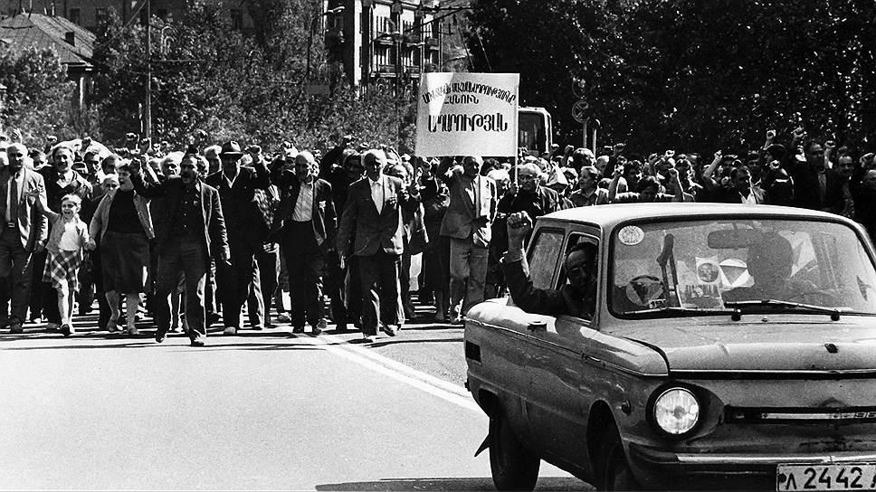 Хроника Карабахского конфликта
