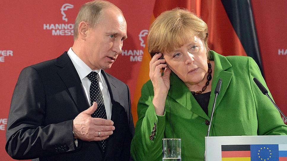 Президент России Владимир Путин и канцлер Германии Ангела Меркель в телефонном разговоре договорились о продолжении совместной работы над преодолением кризиса в Крыму. Как позже уточнила немецкая сторона, речь может идти о создании комиссии по расследованию и контактной группы под эгидой ОБСЕ