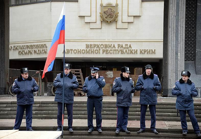 Между Черноморским флотом (ЧФ) РФ и властями Крыма достигнута договоренность о совместной охране объектов ЧФ РФ