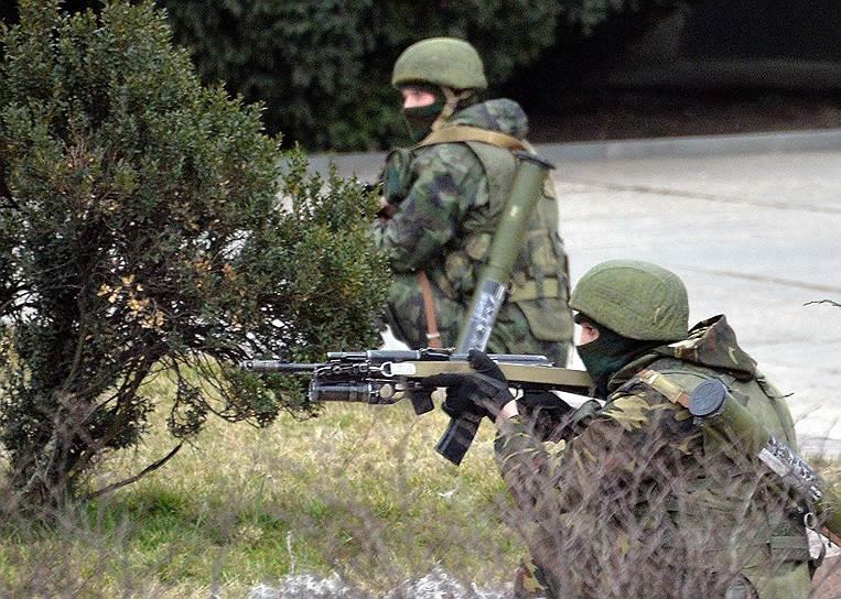Премьер-министр Украины Арсений Яценюк потребовал от российских властей «отозвать свои войска, и вернуть в место дислокации»