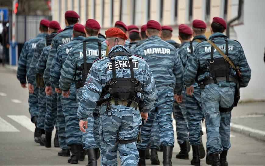 В Крыму создано спецподразделение милиции на базе подразделения «Беркут»