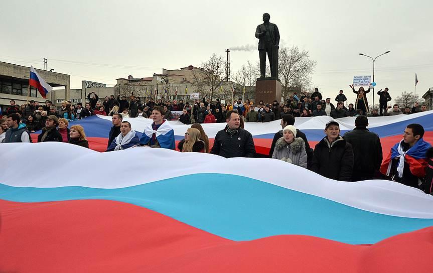 В Харькове, Донецке и Одессе проходят пророссийские митинги