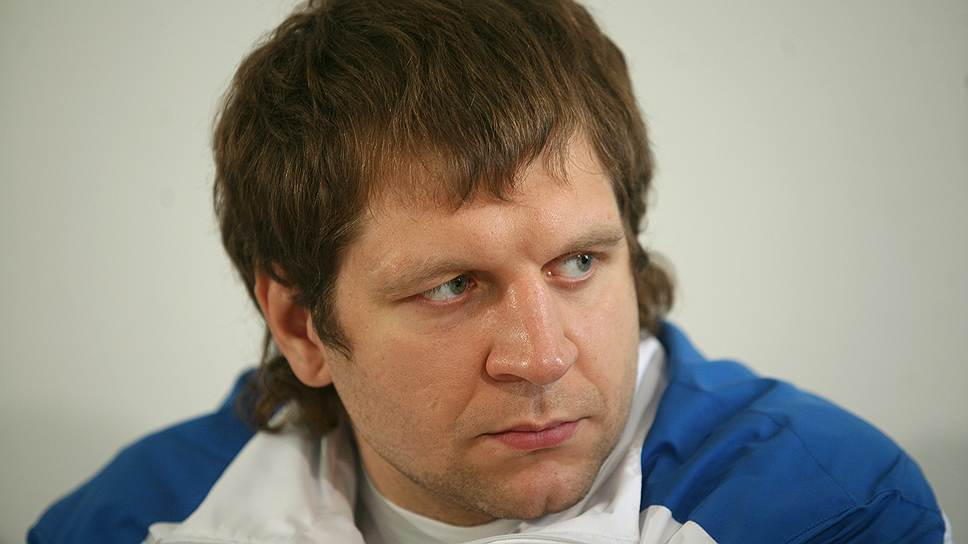 Борец Александр Емельяненко