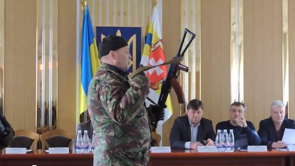 Как в «Правом секторе» нашли чеченского бандита