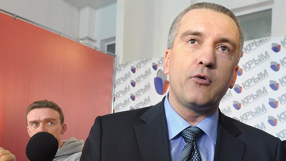 Председатель Совета министров Автономной Республики Крым (АРК) Сергей Аксенов