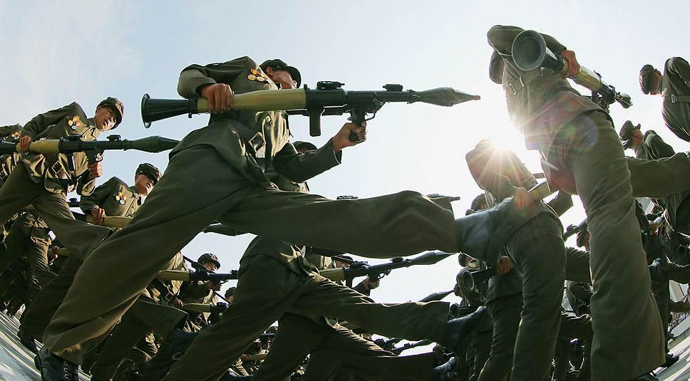 В 2006 году КНДР запустила в сторону США ракету «Тепходонг-2», которая упала в экономической зоне Находки