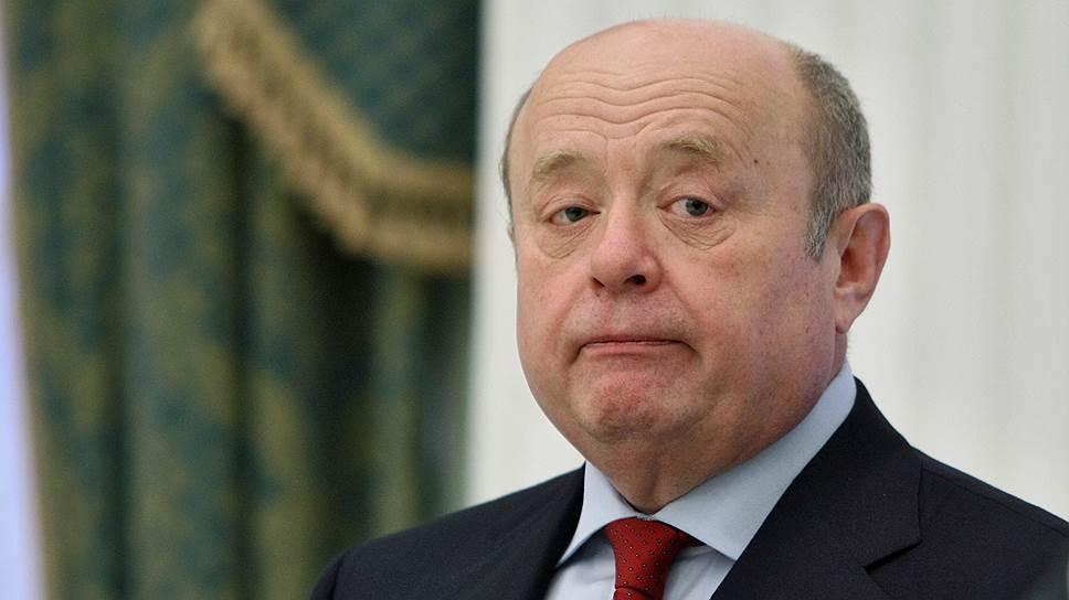 Бывший директор Службы внешней разведки (СВР) России Михаил Фрадков (в 2007-2016 годах)