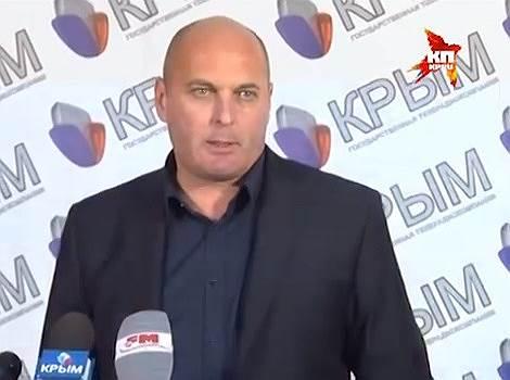 Министр внутренних дел по Республике Крым Сергей Абисов