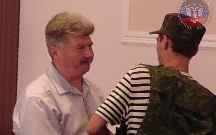 Первый вице-президент Приднестровья Александр Караман (бывший министр иностранных дел ДНР)