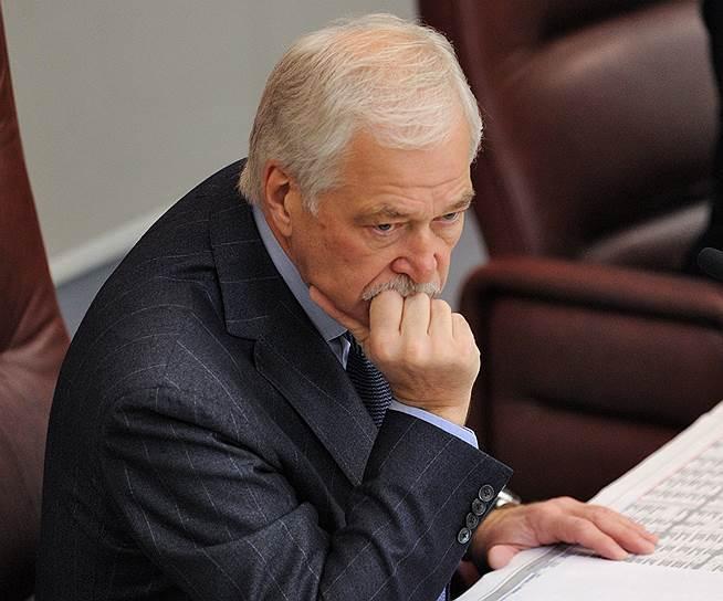 Бывший председатель высшего совета «Единой России» Борис Грызлов (ныне — полномочный представитель президента РФ в контактной группе на Украине)