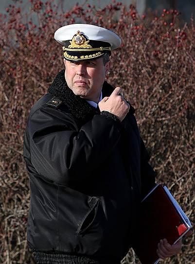 Бывший заместитель командующего Черноморским флотом ВМФ России Денис Березовский