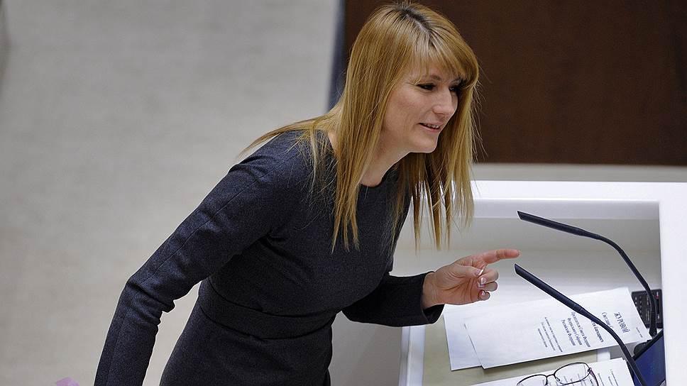 Экс-депутат Государственной думы России Светлана Журова