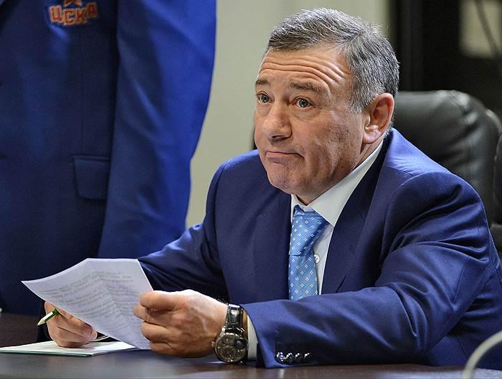 Предприниматель, совладелец СМП Банка Аркадий Ротенберг