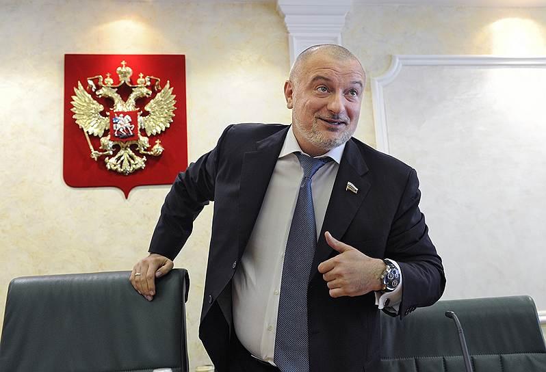 Член Совета федерации Андрей Клишас