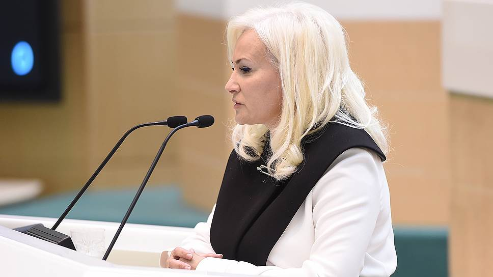 Представитель Республики Крым от исполнительной власти в Совете федерации Ольга Ковитиди