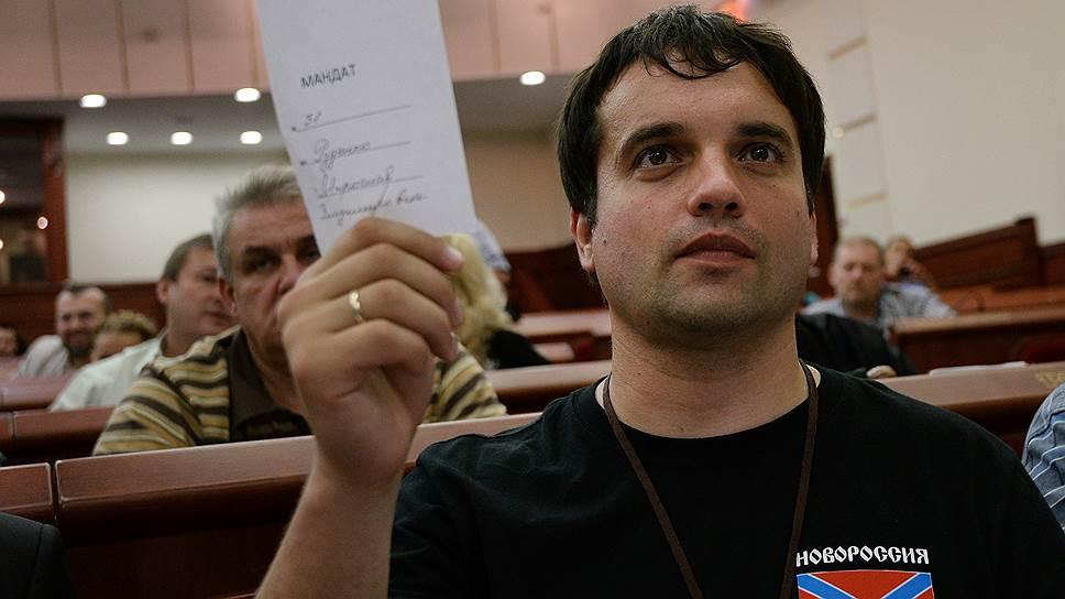 Депутат Верховного совета ДНР Мирослав Руденко