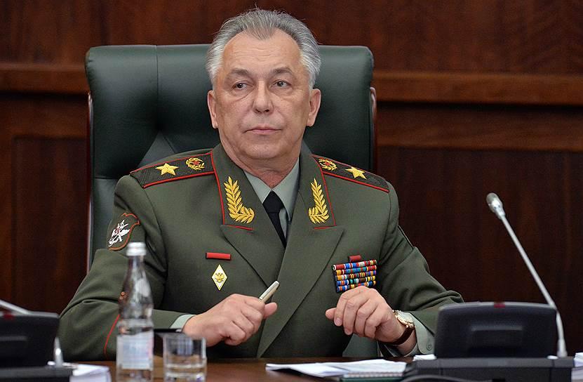 Бывший замминистра обороны России Аркадий Бахин