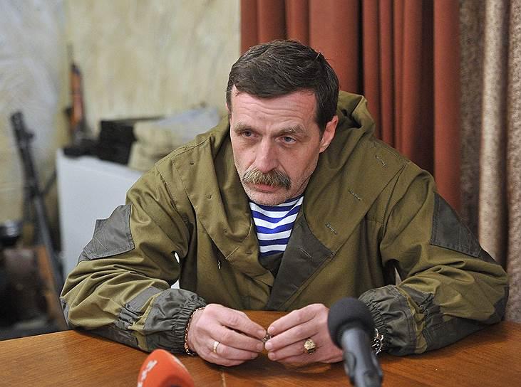 Бывший командир «народной милиции» Горловки Игорь Безлер