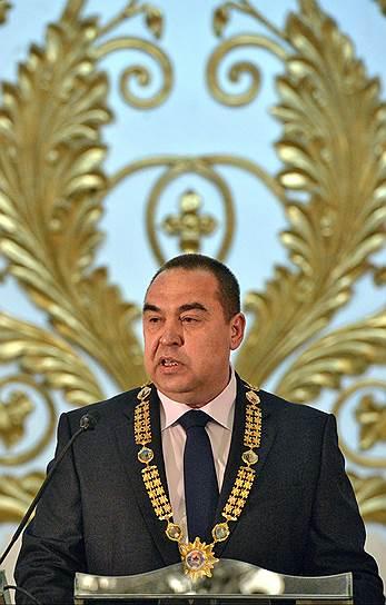 Уполномоченный по исполнению Минских соглашений от ЛНР Игорь Плотницкий
