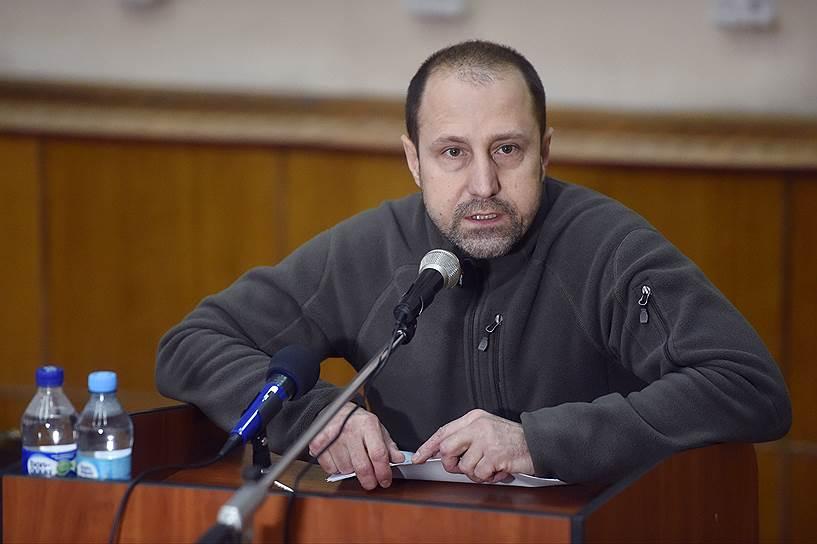 Председатель правления общественной организации «Патриотические силы Донбасса» Александр Ходаковский