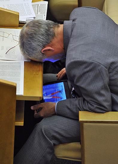 Член комитета Государственной думы России по жилищной политике и жилищно-коммунальному хозяйству Ришат Абубакиров