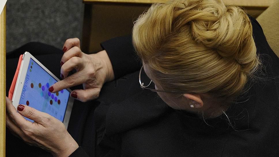 Председатель комитета Государственной думы России по вопросам семьи, женщин и детей Елена Мизулина