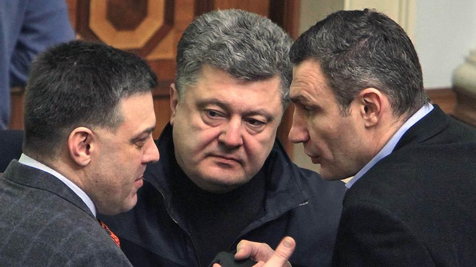 Как Виталий Кличко предложил выдвинуть Петра Порошенко единым кандидатом