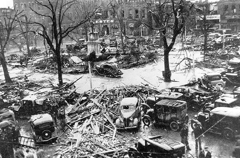 1936 год. Торнадо в Тупело (штат Миссисипи) и Гейнсвилле (штат Джорджия) унесло жизни 450 человек