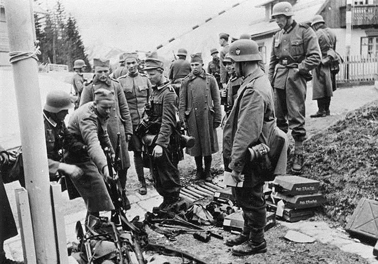 1941 год. Вторжение немецких войск в Югославию и Грецию