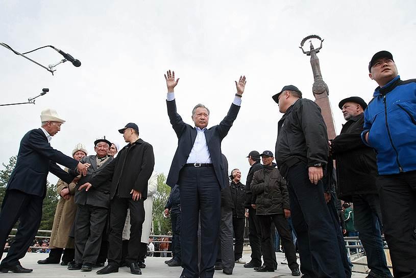 2010 год. Начало государственного переворота в Киргизии, известного как «Апрельские события». Оппозиция выступила против клановости и семейственности режима правления Курманбека Бакиева