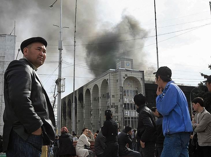 2010 год. Вторая революция в Киргизии, принесшая смену власти Киргизской Республики
