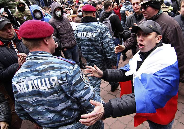 Лидер партии «Правый сектор» Дмитрий Ярош сделал официальное заявление, в котором призвал к всеобщей мобилизации для борьбы с сепаратистами