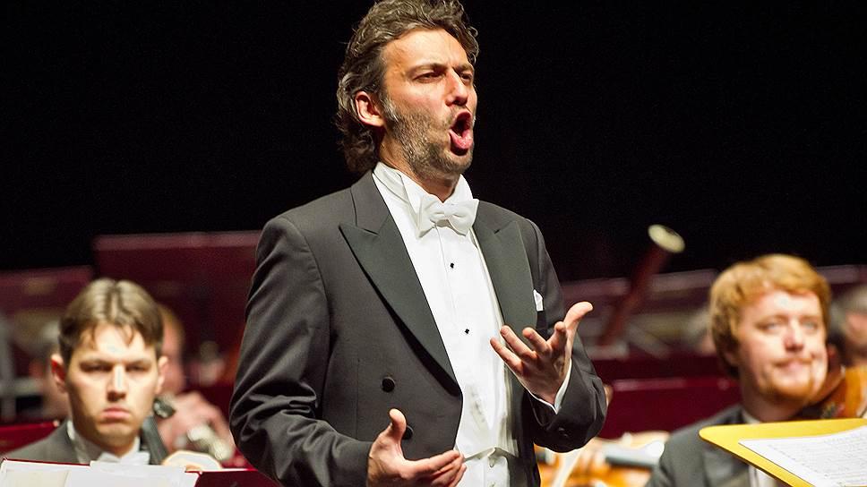 Немецкий оперный певец Йонас Кауфман