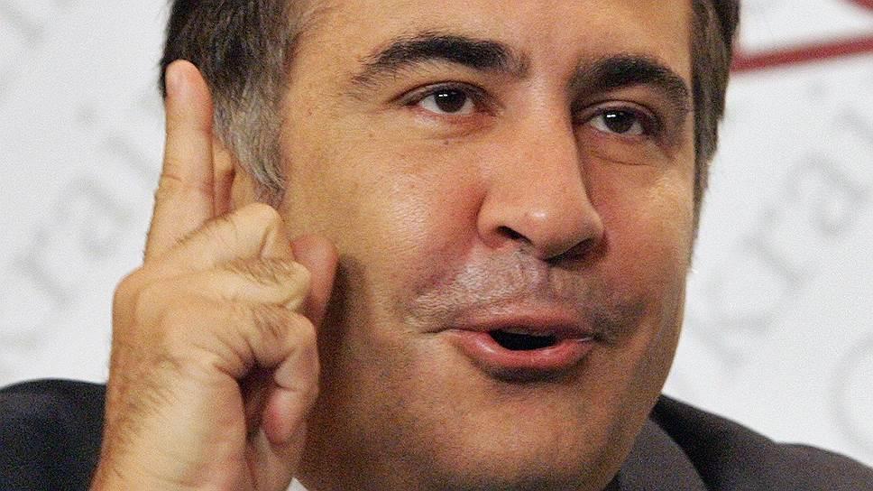 Как Михаил Саакашвили выступил от имени США
