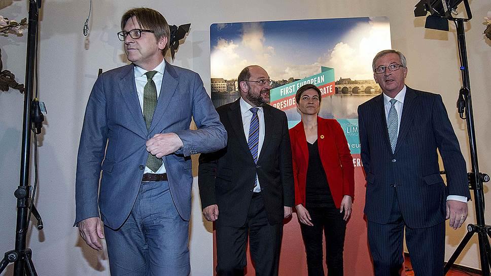 Как в Маастрихте прошли теледебаты кандидатов на пост председателя Еврокомиссии