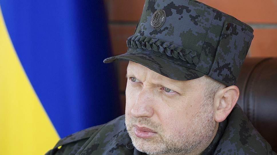 Как Александр Турчинов заявил об угрозе со стороны России