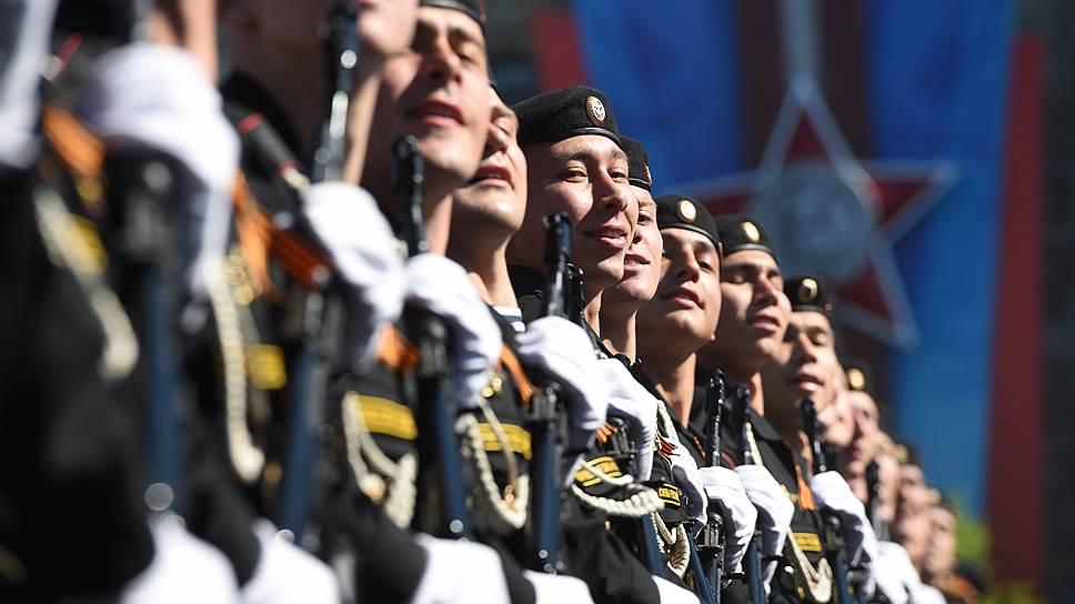 Как на Красной площади прошел Парад Победы