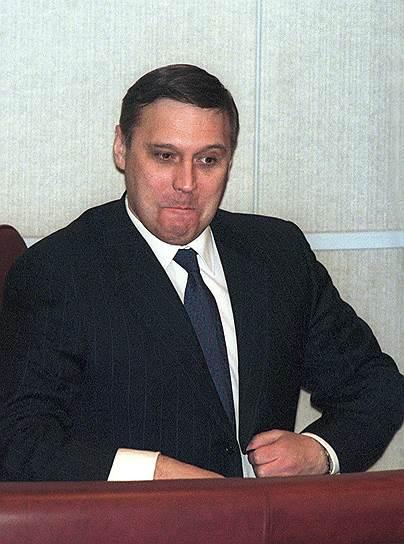 2000 год. Михаил Касьянов стал премьер-министром в правительстве Владимира Путина
