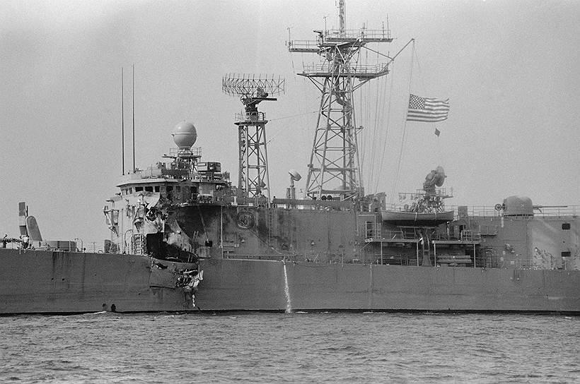 1987 год. В ходе ирано-иракской войны произошел инцидент с фрегатом «Старк» в Персидском заливе, в результате которого погибло 37 американцев. США и Ирак признали случившееся ошибкой