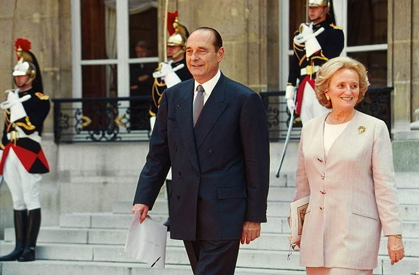 1995 год. Жак Ширак стал президентом Франции