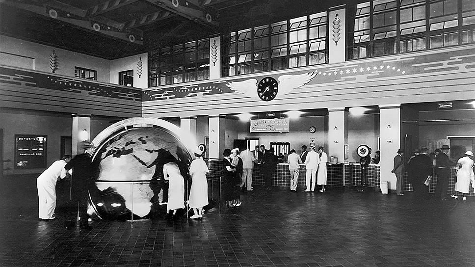 1939 год. Компания «Пан Американ» начала доставку авиапочты через Атлантический океан