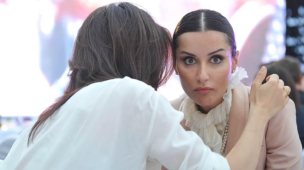 Журналистка, телеведущая, продюсер и общественный деятель Тина Канделаки
