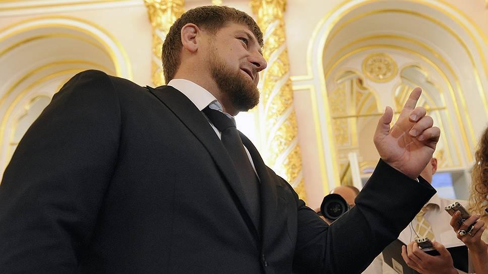 Как журналистов LifeNews посадили на борт Рамзана Кадырова