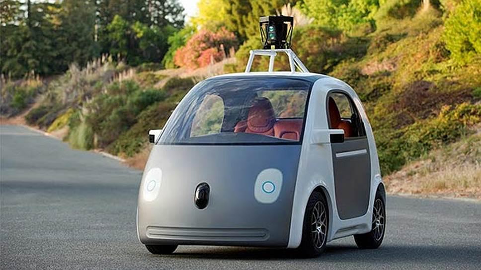 Как Google представила самодвижущийся экипаж