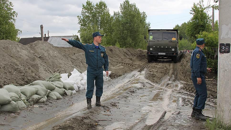 Как в Сибири ввели режим ЧС из-за паводка