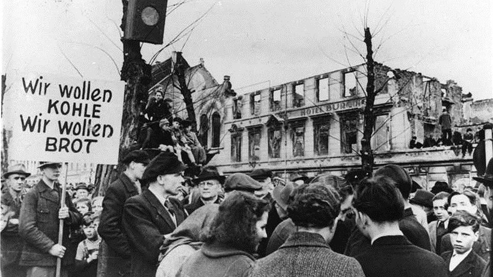 Отсутствие стабильности в послевоенной Европе отражалось как на экономической ситуации в Америке, так и на мировой экономике в целом