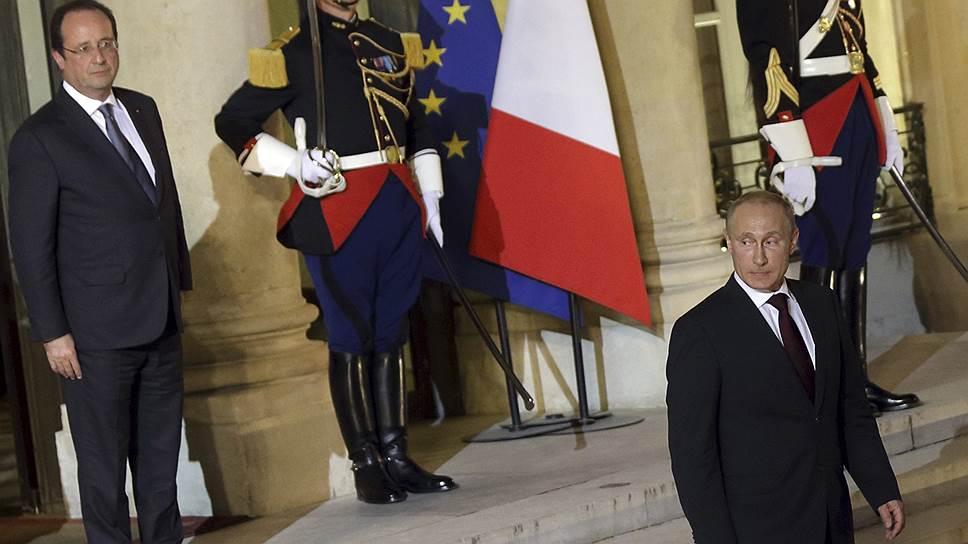Как Владимир Путин обсудил Украину с лидерами Британии и Франции