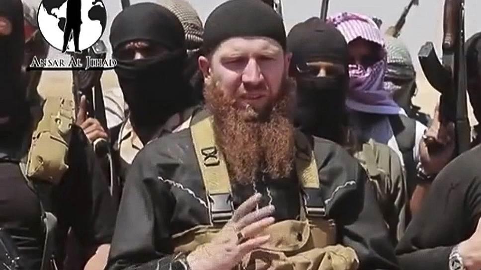 Комиссованный из грузинской армии чеченец стал лицом сирийских боевиков